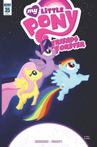 My Little Pony: Friends Forever #35 (10 Copy Cover)