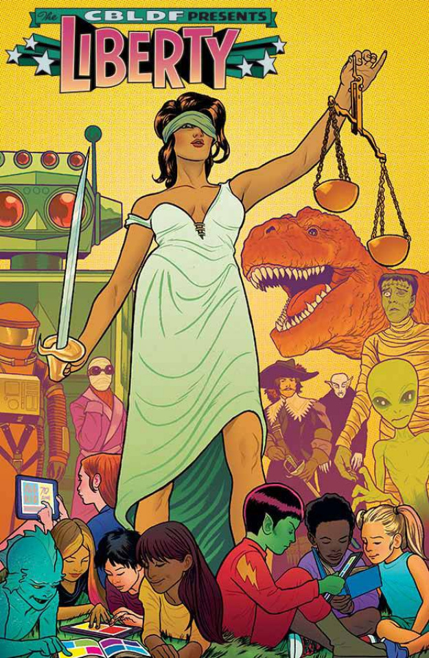Comic Book Legal Defense Fund Liberty Annual 2014 (Allred Cover)
