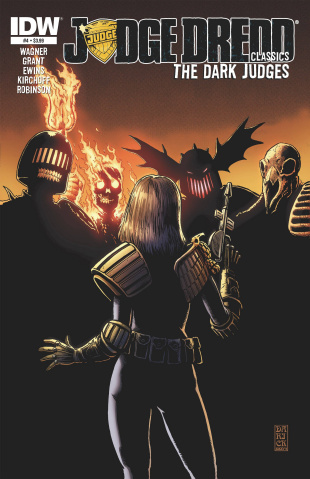 Judge Dredd Classics: The Dark Judges #4
