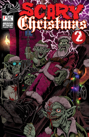 Scary Christmas #1 (Hasson & Haeser Cover)