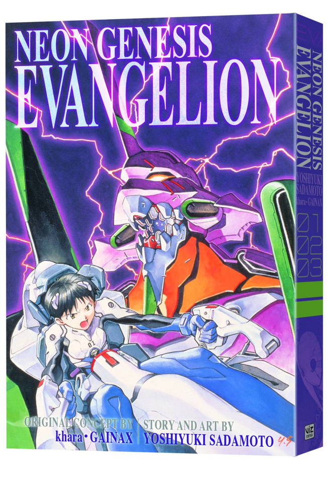 Neon Genesis Evangelion Vol. 1 (3-In-1 Edition)