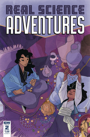 Real Science Adventures: Nicodemus Job #2 (McClaren Cover)