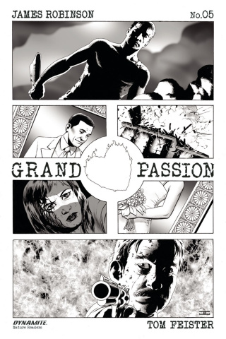 Grand Passion #5 (10 Copy B&W Cover)