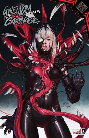 King In Black: Gwenom vs. Carnage #1 (Inhyuk Lee Cover)
