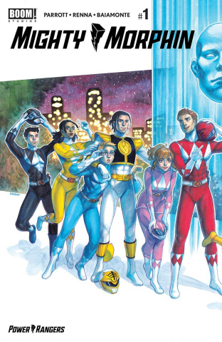 Mighty Morphin' #1 (Connecting 2nd Printing)