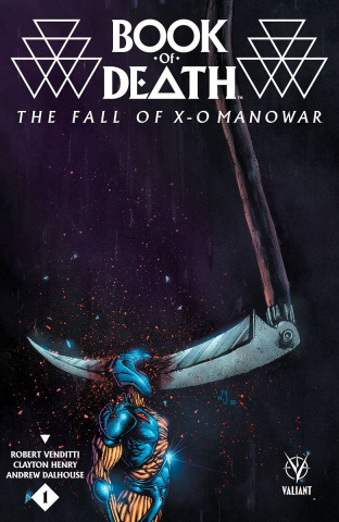 Book of Death: The Fall of X-O Manowar #1 (10 Copy Lee Cover)