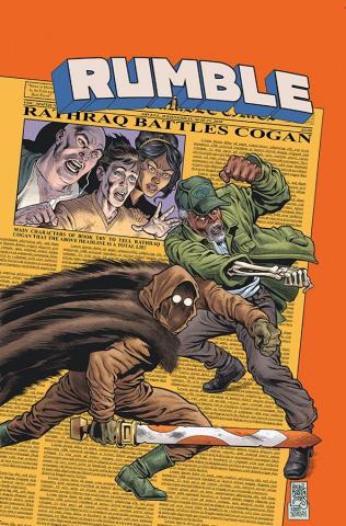 Rumble #12 (Jones, Nowlan & Stewart Cover)