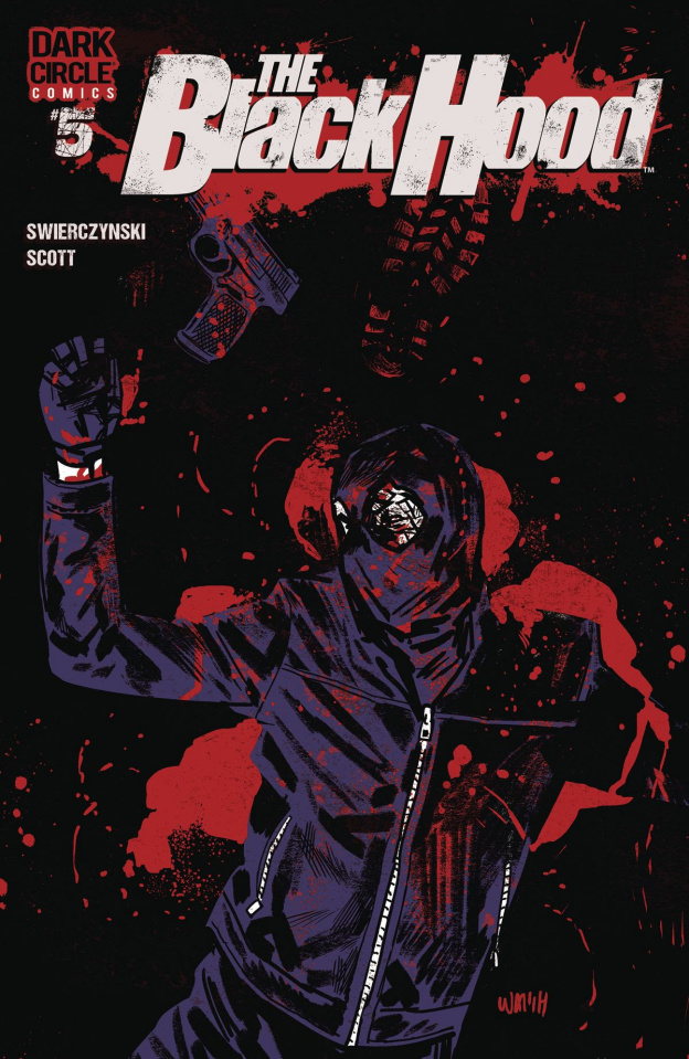 The Black Hood, Season 2 #5 (Michael Walsh Cover)