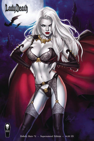 Lady Death: Unholy Ruin #2 (Supernatural Cover)