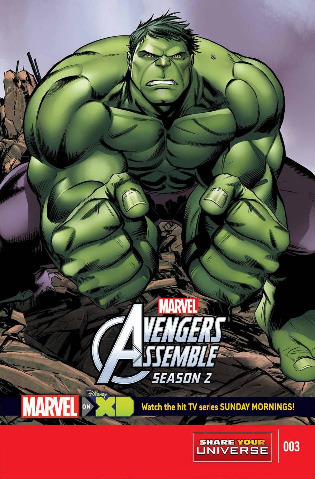 Avengers Assemble, Season Two #3