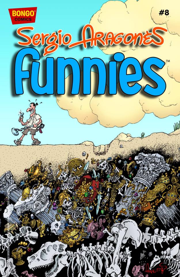 Sergio Aragones' Funnies #8