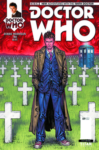 Doctor Who: New Adventures with the Tenth Doctor #9 (Cook Cover)