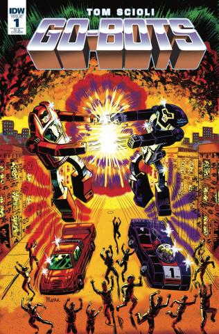 Go-Bots #1 (20 Copy Marra Cover)