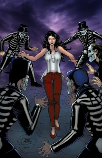Grimm Fairy Tales: Day of the Dead #1 (Salonga Cover)