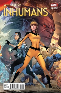 All-New Inhumans #1 (Cheung Connecting Cover)