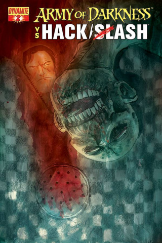 Army of Darkness vs. Hack/Slash #2 (Templesmith Cover)