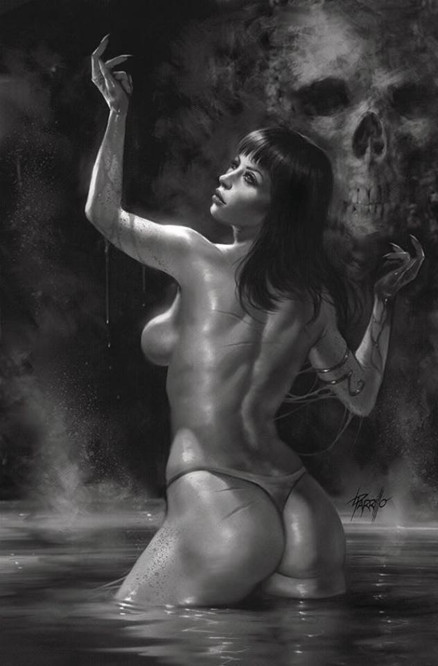 Vengeance of Vampirella #5 (25 Copy Parrillo B&W Virgin Cover)