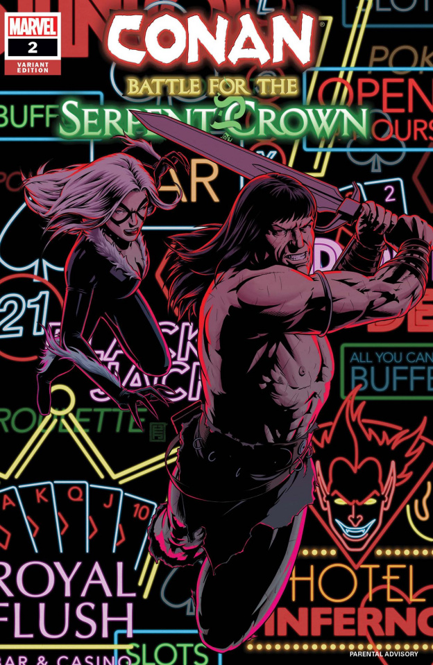 Conan: Battle for the Serpent Crown #2 (Christopher Cover)