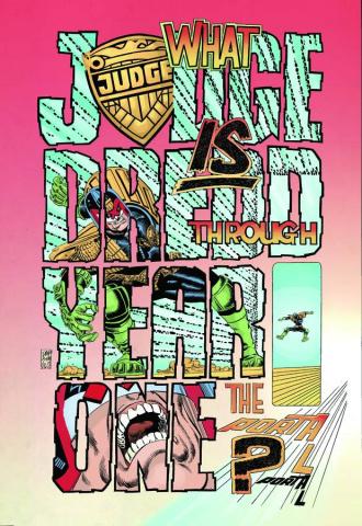 Judge Dredd: Year One #2 (25 Copy Cover)