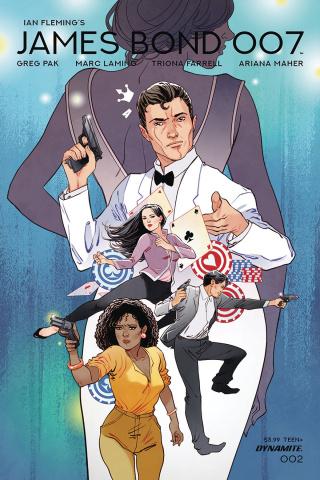 James Bond: 007 #2 (Sauvage Cover)