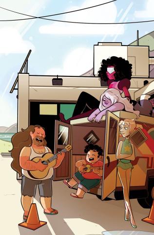 Steven Universe #4 (15 Copy St. Onge Cover)