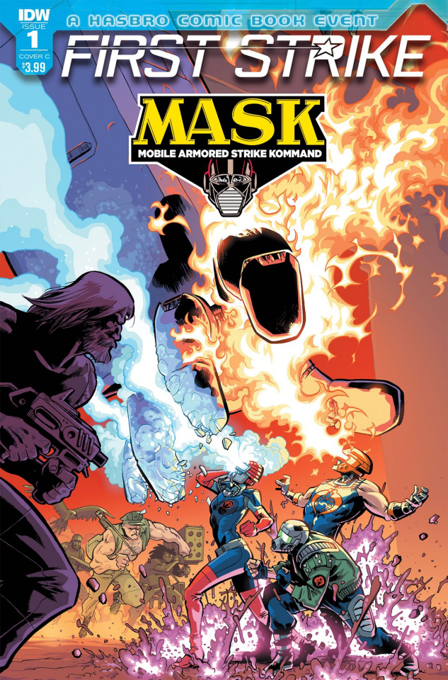 M.A.S.K.: First Strike #1 (Johnson Cover)