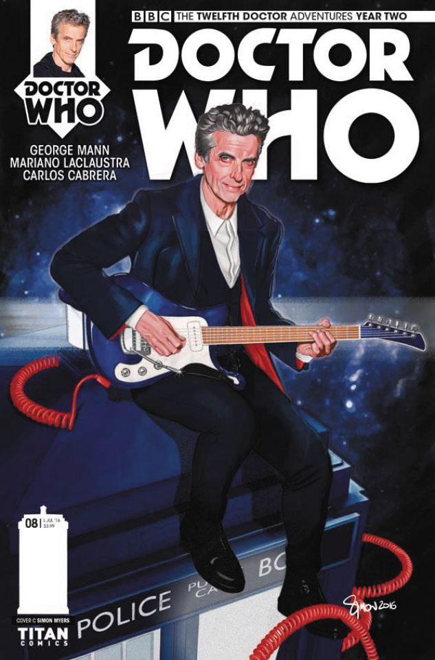 Doctor Who: New Adventures with the Twelfth Doctor, Year Two #8 (Myers Cover)