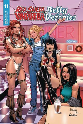 Red Sonja and Vampirella Meet Betty and Veronica #11 (Braga Cover)