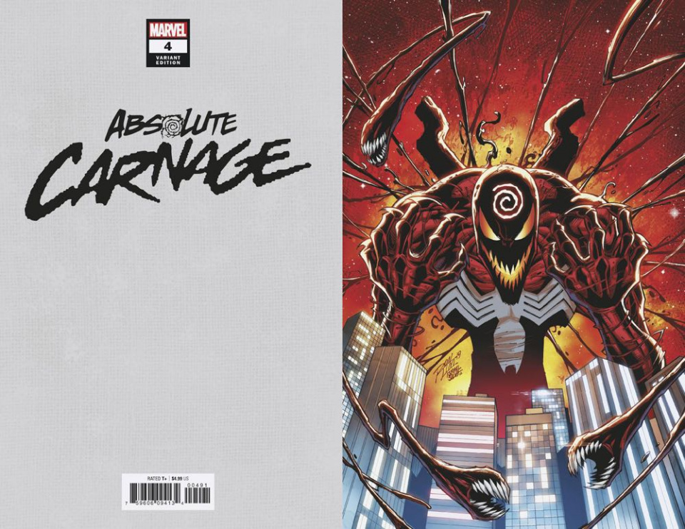 Absolute Carnage #4 (Lim Virgin Cover)