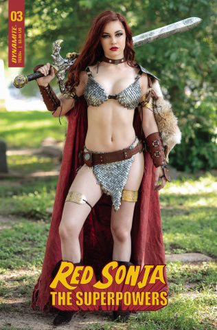Red Sonja: The Superpowers #3 (Polson Cosplay Cover)