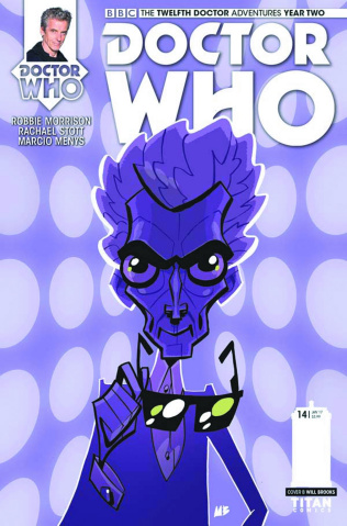 Doctor Who: New Adventures with the Twelfth Doctor, Year Two #14 (Baxter Cover)