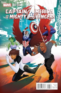 Captain America and the Mighty Avengers #3 (Richardson Cover)