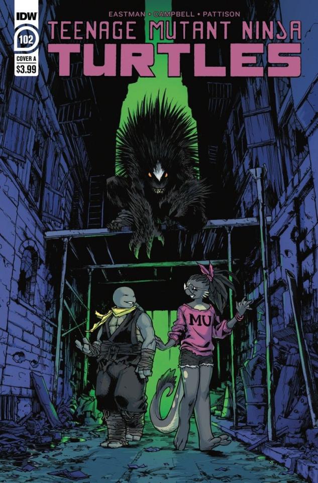 Teenage Mutant Ninja Turtles #102 (Campbell Cover)