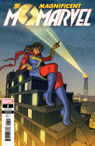 The Magnificent Ms. Marvel #2 (Chan Cover)