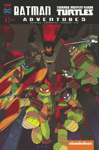 Batman / Teenage Mutant Ninja Turtles Adventures #1 (2nd Printing)