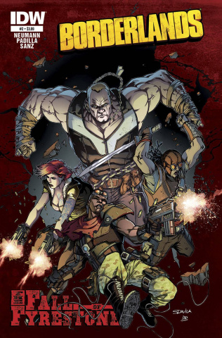 Borderlands: The Fall of Fyrestone #2 (Subscription Cover)