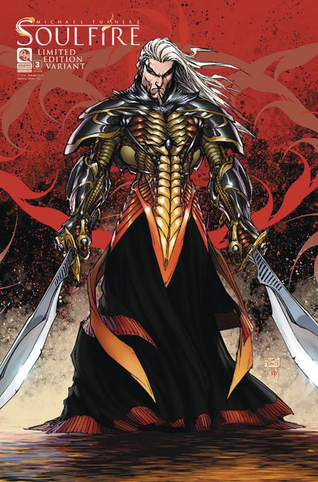 Soulfire #3 (Retailer Cover)