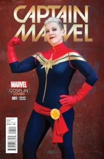 Captain Marvel #1 (Cosplay Cover)