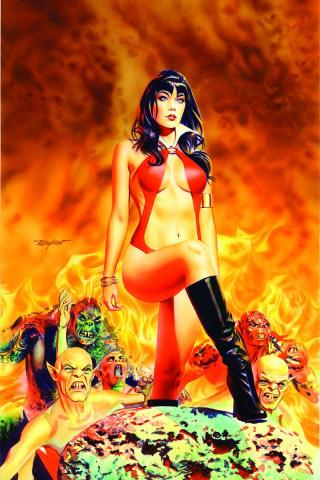 Vampirella #12 (25 Copy Mayhew Virgin Cover)