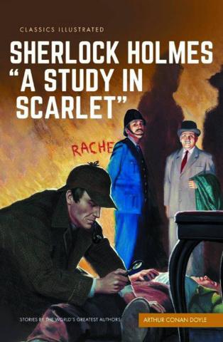 """Sherlock Holmes in """"A Study in Scarlet"""""""