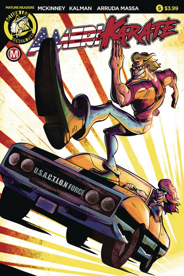 Amerikarate #5 (Roth Cover)