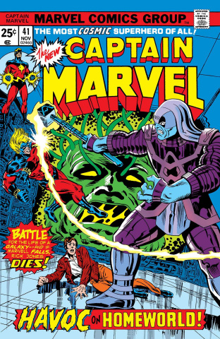 Captain Marvel vs. Ronan #1 (True Believers)