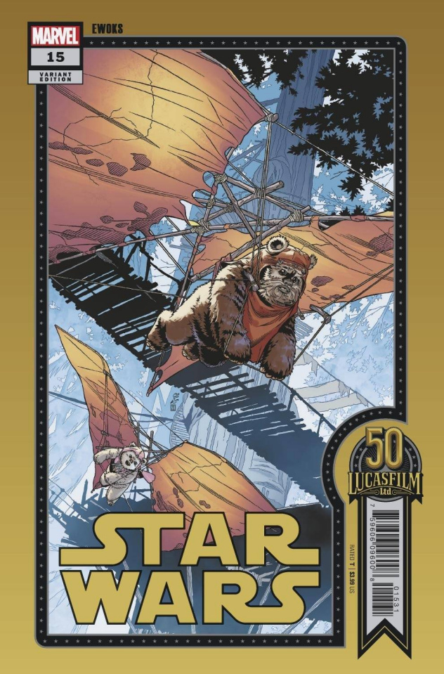 Star Wars #15 (Sprouse Lucasfilm 50th Anniversary Cover)