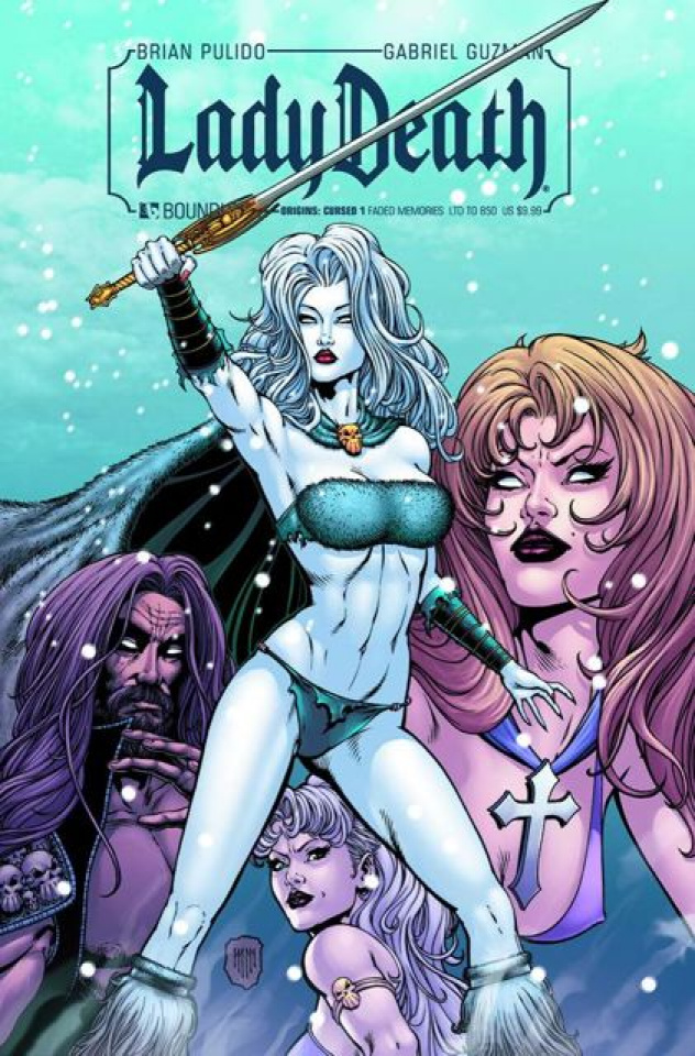 Lady Death #1 (Faded Memories Cover)