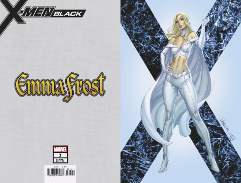 X-Men: Black - Emma Frost #1 (JSC Virgin Cover)