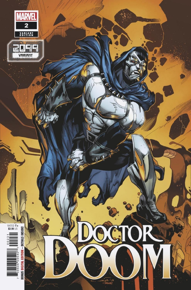 Doctor Doom #2 (Stroman 2099 Cover)