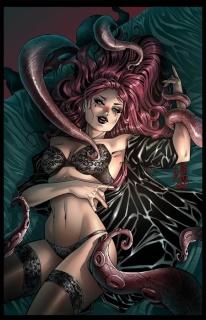 Grimm Fairy Tales: Grimm Tales of Terror #6 (Cafaro Cover)