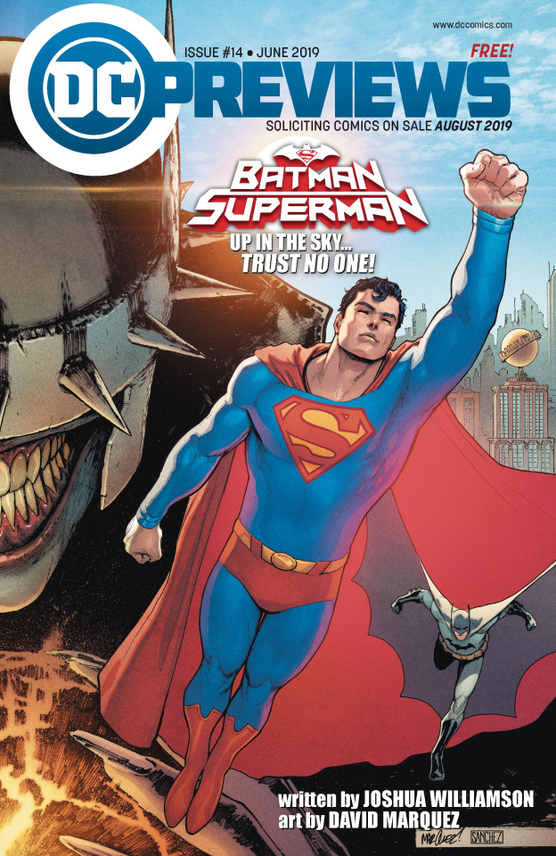 DC Previews #16: August 2019 Extras