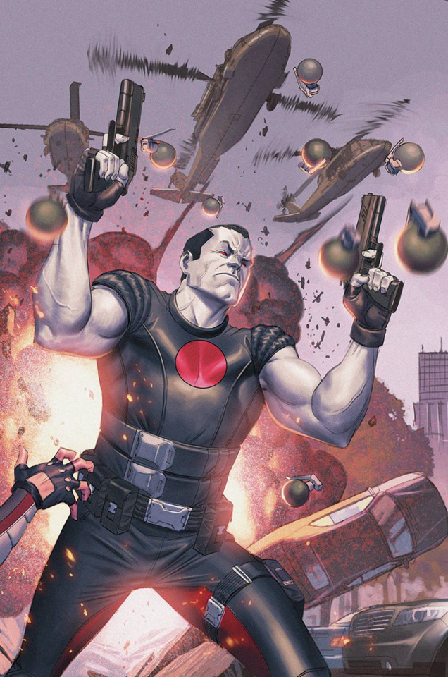 Bloodshot & H.A.R.D. Corps #20 (Molina Cover)