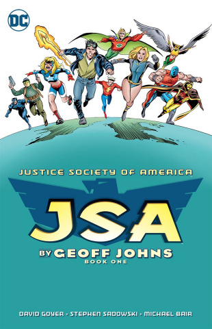 JSA by Geoff Johns Book 1